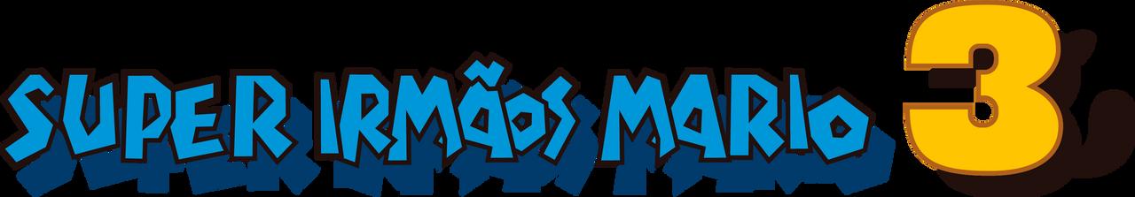Super Mario Bros. 3 PT-BR Logo (JP BOXART)
