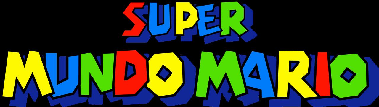 Super Mario World PT-BR Logo (Boxart)