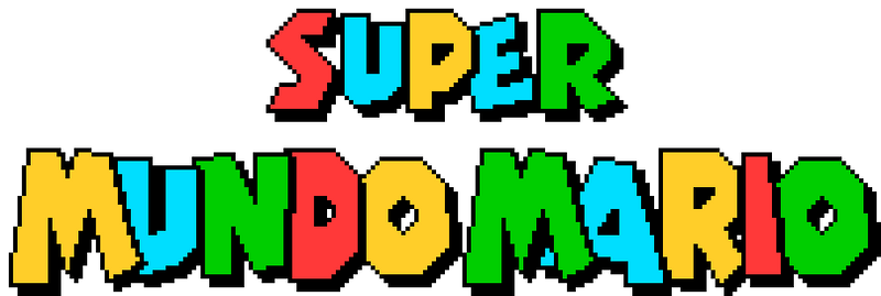 Super Mario World PT-BR Logo (Ingame)
