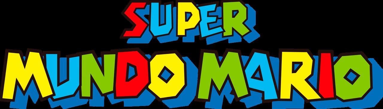 Super Mario World PT-BR Logo (GBA Boxart)