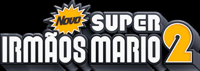 NEW Super Mario Bros. 2 PT-BR Logo