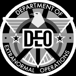 DEO Logo grayscale