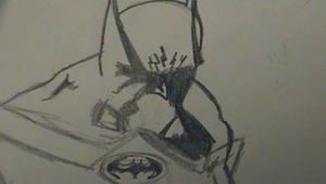 Quesada Style Dark Knight by NickParamonte