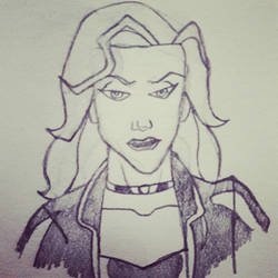 Black Canary (The Batman Style) by NickParamonte