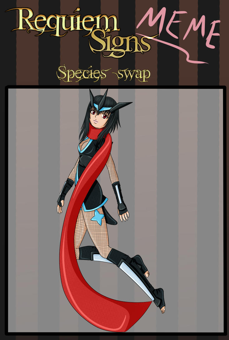 RS: Species Swap - Noriko by sakuraluvsuall