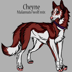 Cheyne by Levialyn