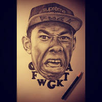 Tyler the Creator by meowsiclez-art