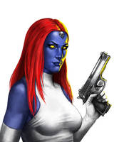 Xmen Mystique by bane62s