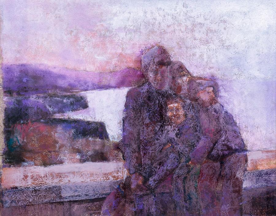 Family in Sorrento by tutanvaly