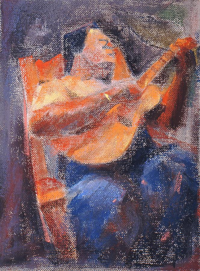 Nanua Playing Guitar by tutanvaly