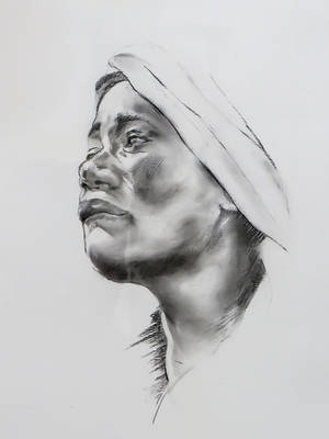 Ebony Beauty - Sketch no #001 by tutanvaly