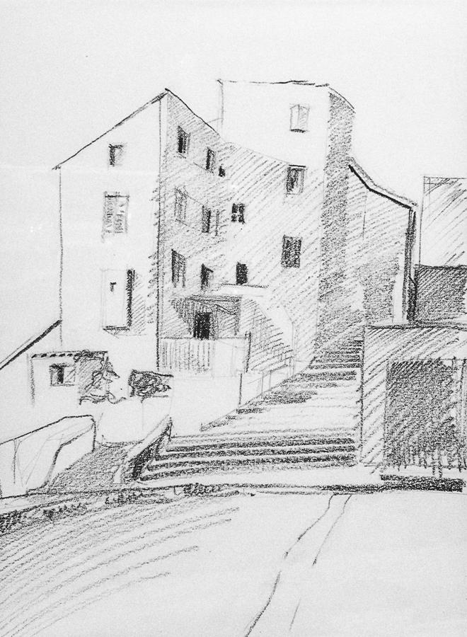 Various Buildings - Sketch no #006 by tutanvaly
