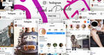 FREE Instagram Feed and Profile PSD UI 2018