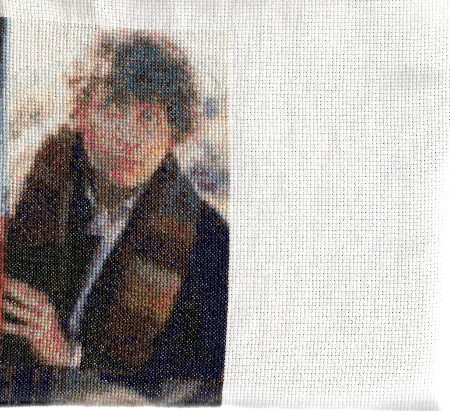 Salford1's 4th Doctor Who - Tom Baker - Cross Stitch