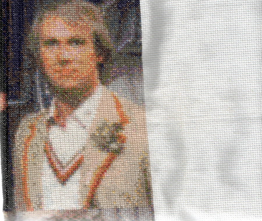 Salford1's 5th Doctor Who - Peter Davison - Cross Stitch