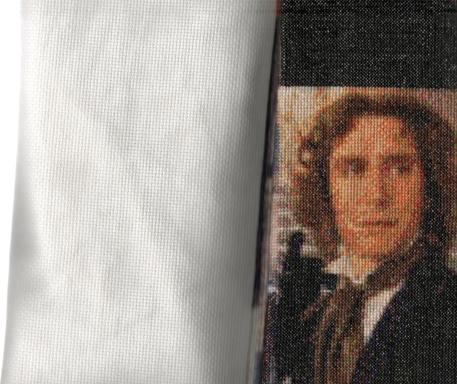 Salford1's 8th Doctor Who - Paul McGann - Cross Stitch