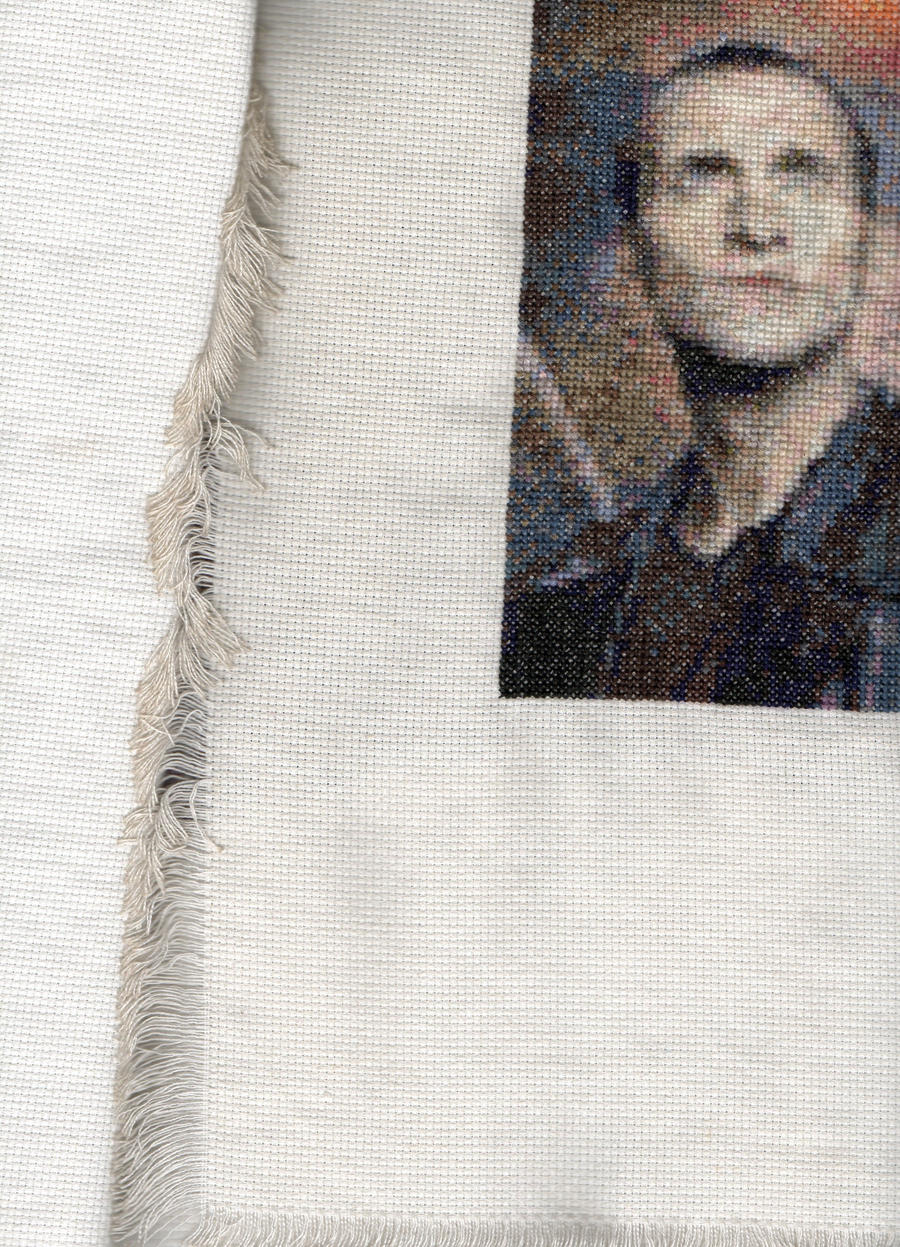Salford1's 9th Doctor Who - Christopher Eccleston - Cross Stitch