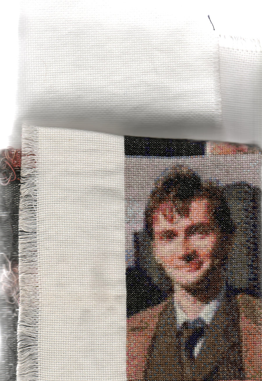 Salford1's 10th Doctor Who - David Tennant - Cross Stitch
