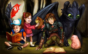 Where No Mystery Goes (HTTYD-Gravity Falls)