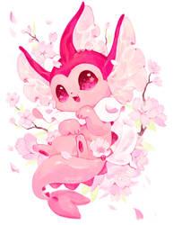 Sakura Vaporeon by meniusalau