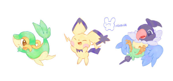 pokemon doodle3