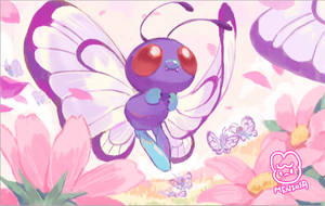 Butterfree doodle