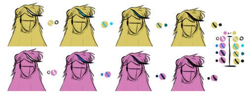 Hair Choices by JulesPhantom