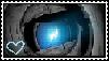 I love Wheatley- stamp by pachirisucatEm