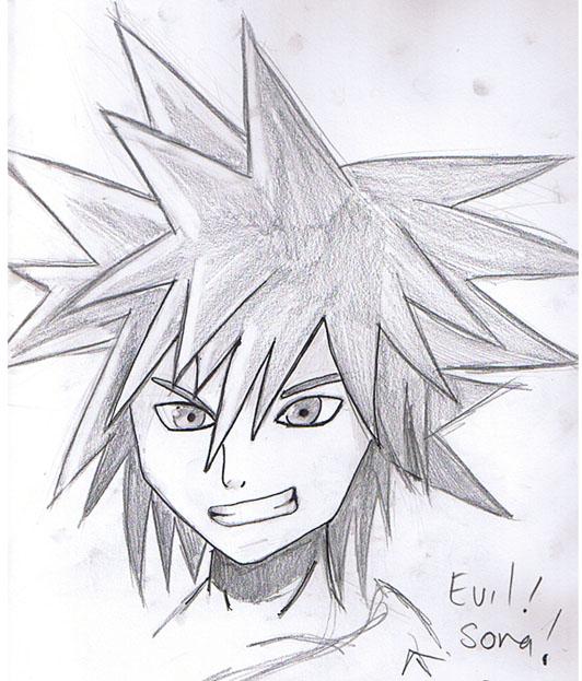 Evil Sora by RikhanaKasumi
