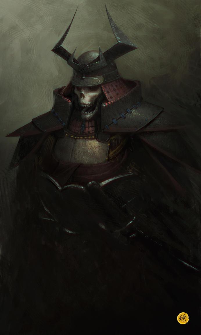 Death Samurai by clonerh