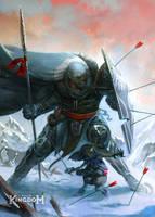 Fragged Kingdom: Legion and Tolatl by clonerh