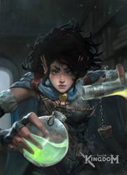 Fragged Kingdom: Kaltoran Alchemist by clonerh