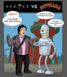 Heroes VS Futurama