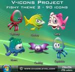 V icons - Fishy Theme 2