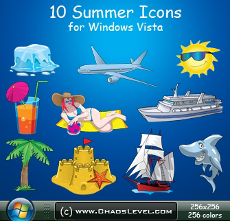 Windows Vista - Summer Icons by Veinctor
