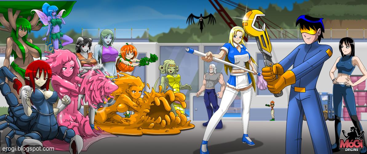 Monster girl island demo day 2 renge scene custom vo 9