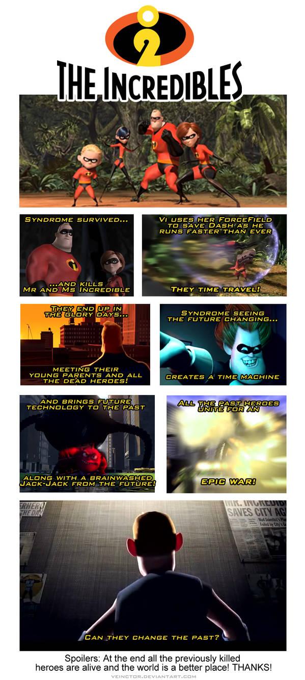 Incredibles 2: The sequel prequel!
