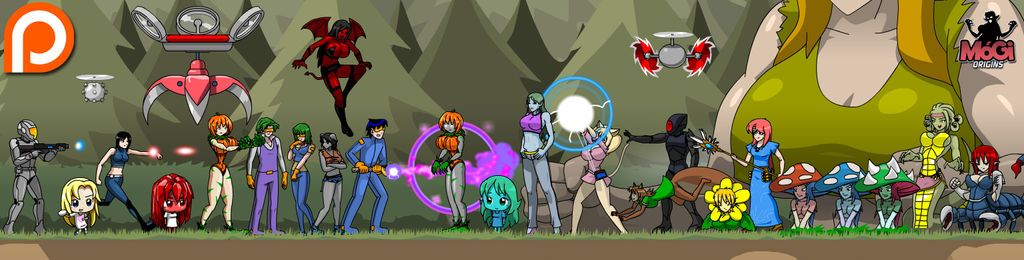 MoGi Origins characters
