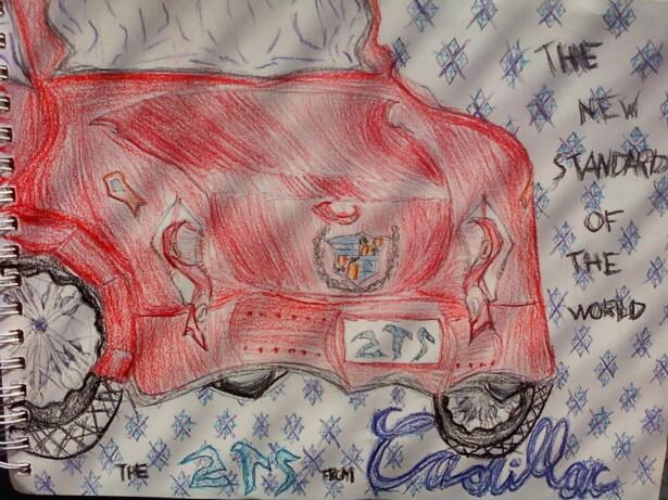 2014 Cadillac ZTS By I-am-who-iam On DeviantArt