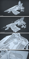 Jedi Starfighter Model