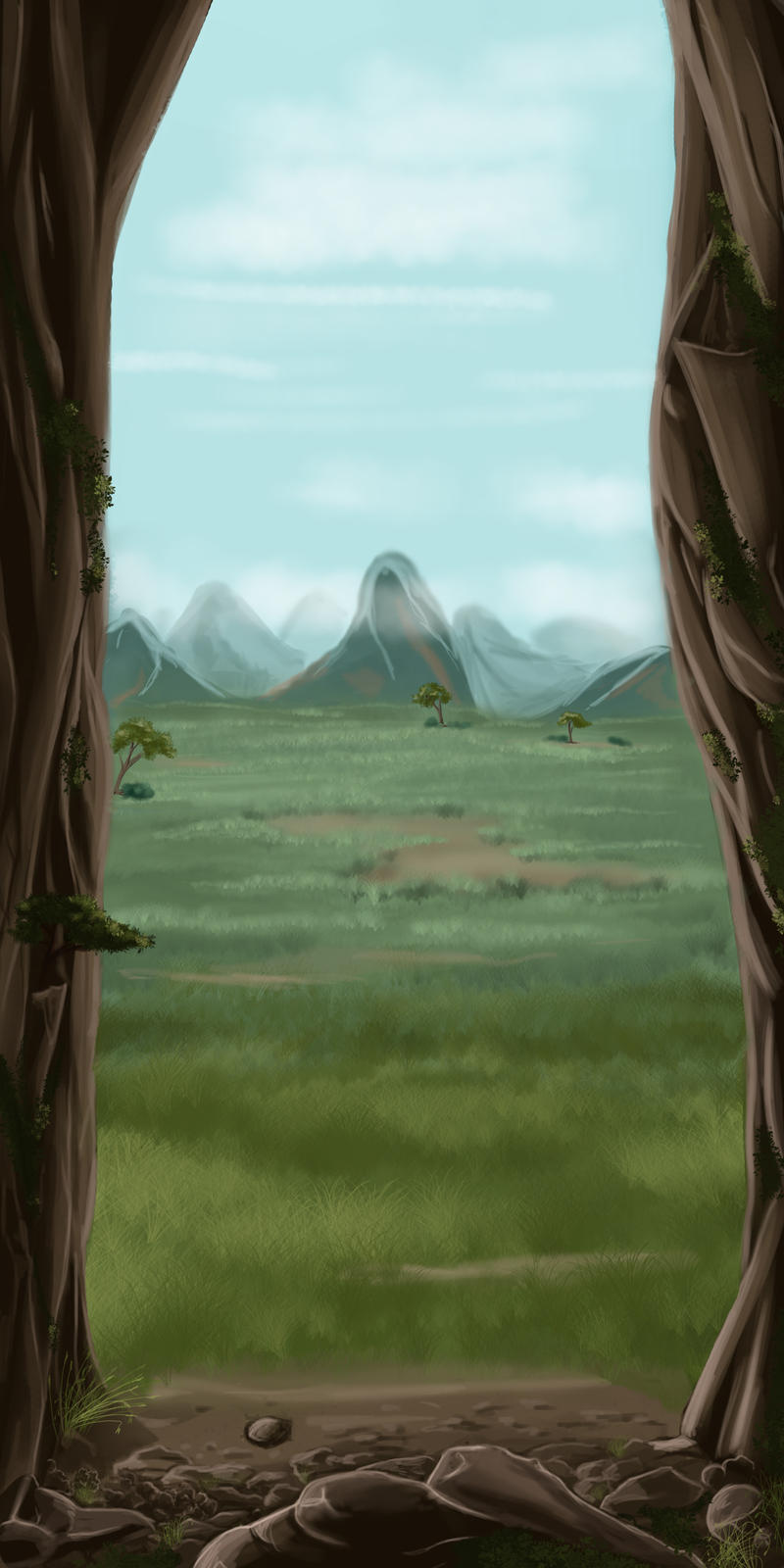 entering the plains by Hana-me-no-tenshi