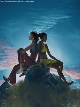 Beautiful world- Hana and Aena