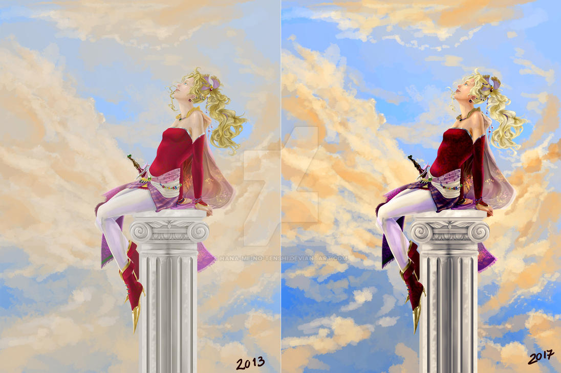 Terra Comparison by Hana-me-no-tenshi