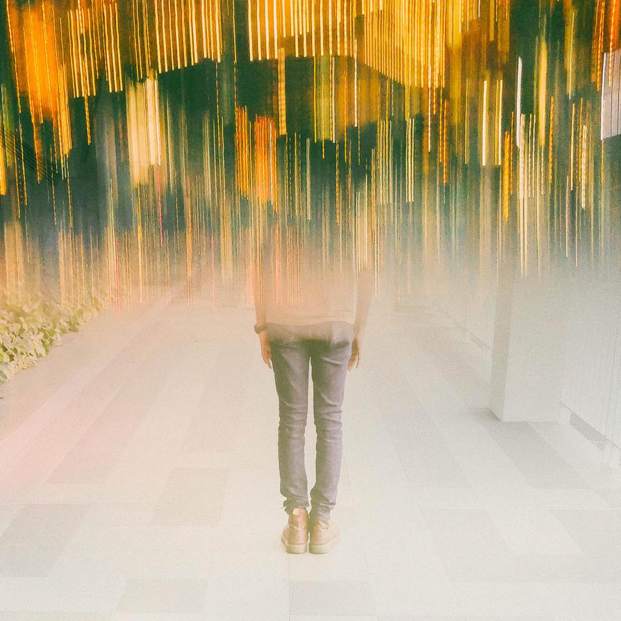 if Rain Captured Lights by slumberbreeze
