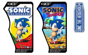 Ex-Aid - Sonic The Hedgehog Gashat Labels