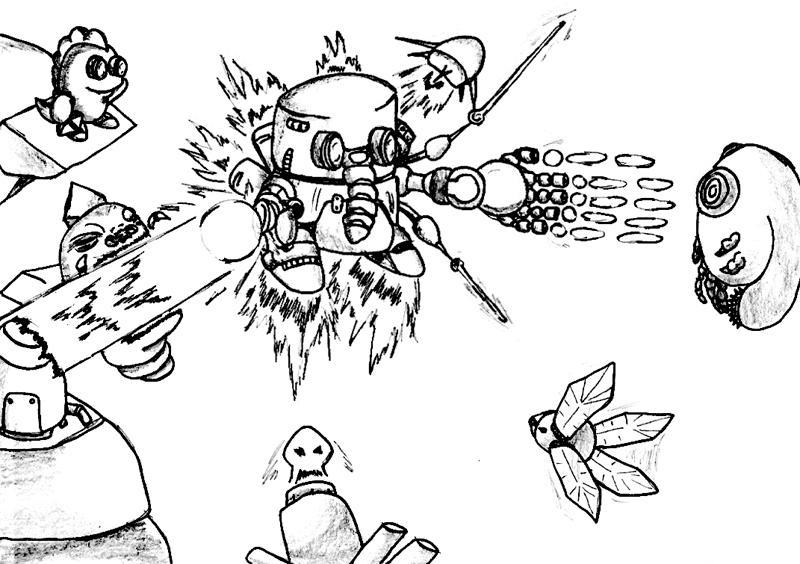 Atomic Robo-Kid: Eat Slag