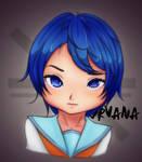 Blue-