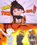 TIMES TICKING !