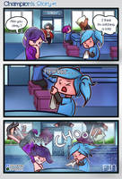 Paladins comic - How Evie got Her Superpower by Trauma-a