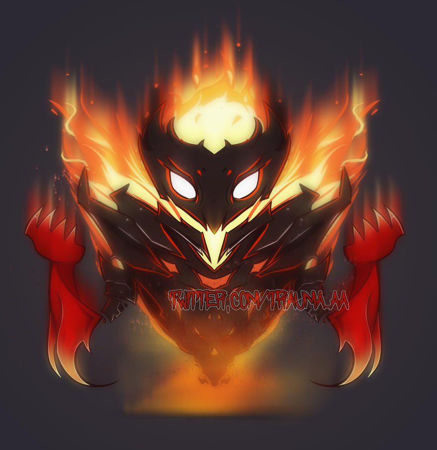 SHADOW FIEND (COMMISSION) by Trauma-a